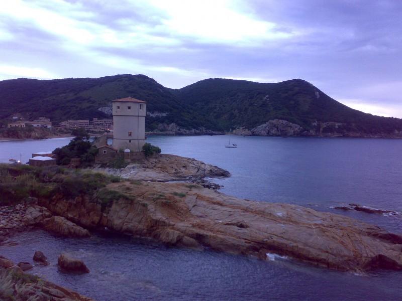 Sunset on Giglio Island