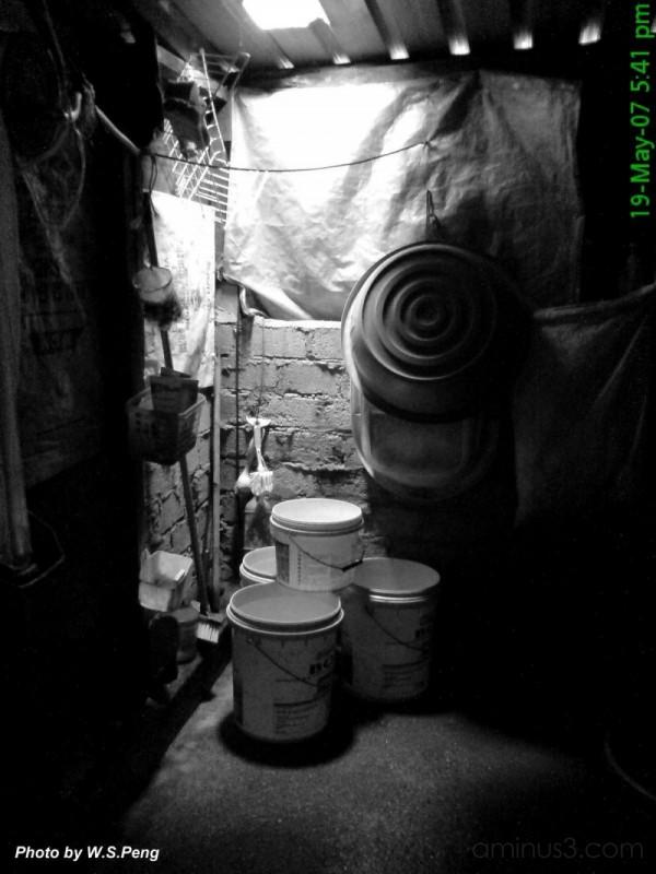 Washroom in the village