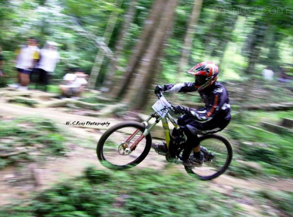 Mountain Bike Downhill Competition