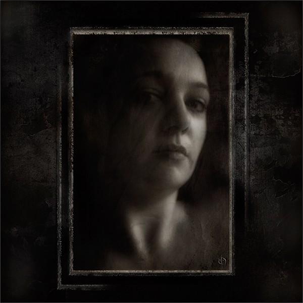 portrait, face, female, experimental, calisto