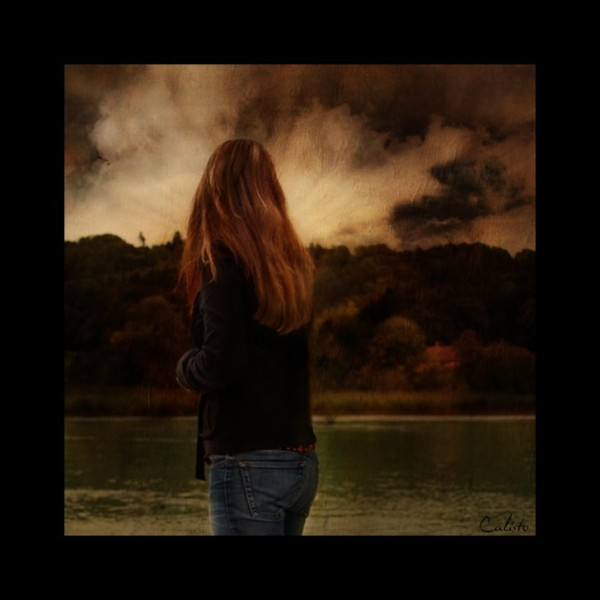 melancholic, photo art, storm, autumn