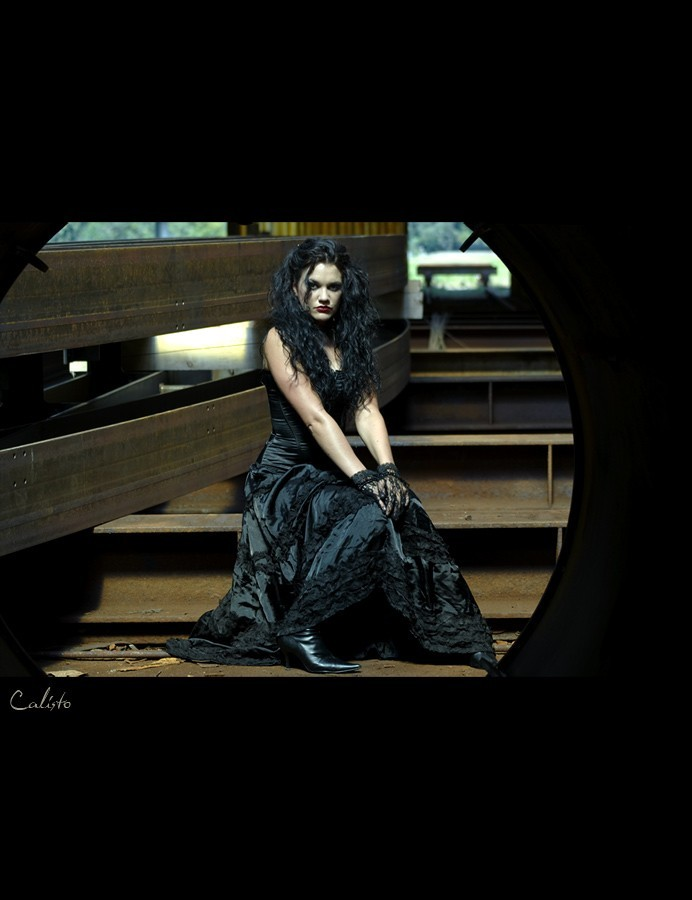 gothic, outdoor, mysterious, dark, rust