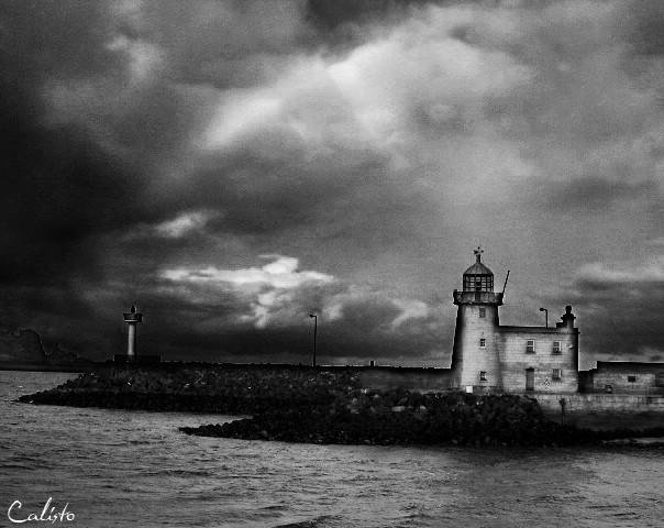 howth, ireland, nortcoast, lighthouse,