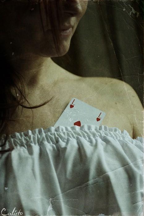 Lie, card, choice, love, L, vintage