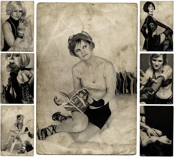vintage retro envy kinky deadly sins