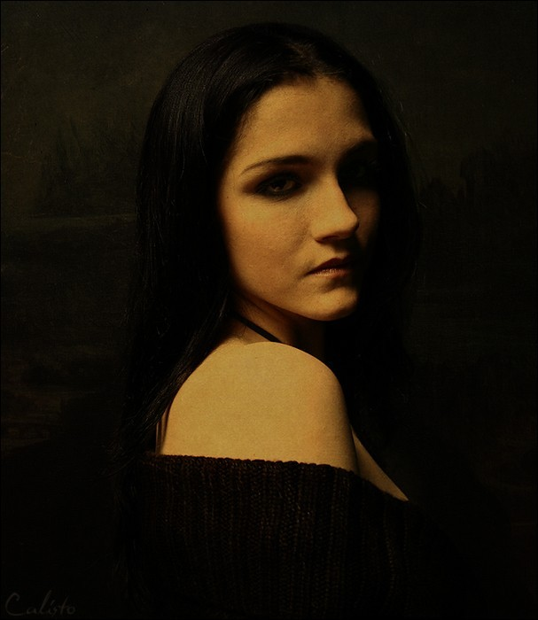 mona lisa, sadness, mona, lisa, portrait, female,