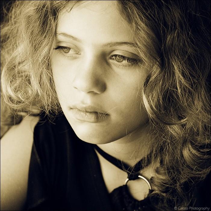 samira, girl, child, portrait, curls