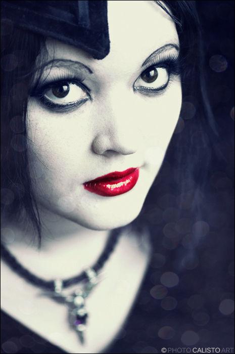 wild, rose, bloody, lips, portraiture, dark,