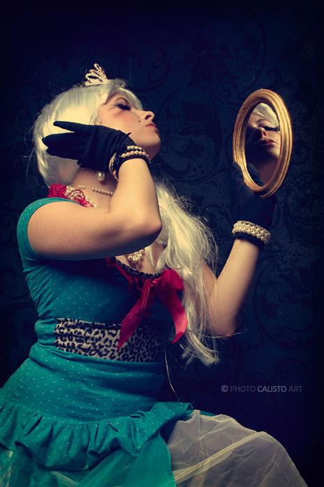 Lady, Queen, mirror, Fair, Beauty, narcissistic