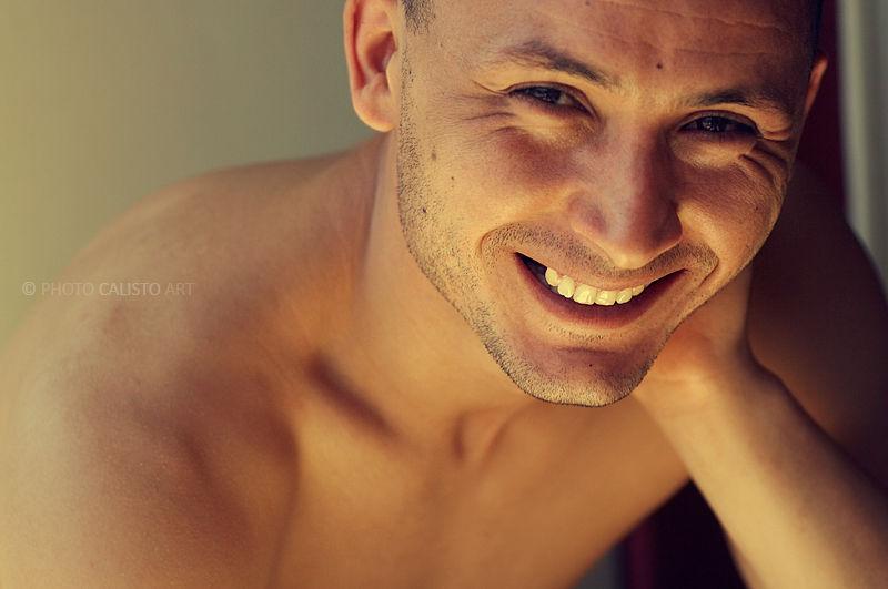 sun smile male shine portrait