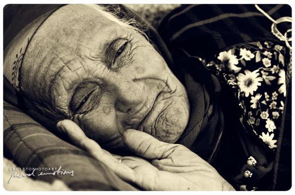 grandma, old, woman, b/w, beautiful, soul, angel