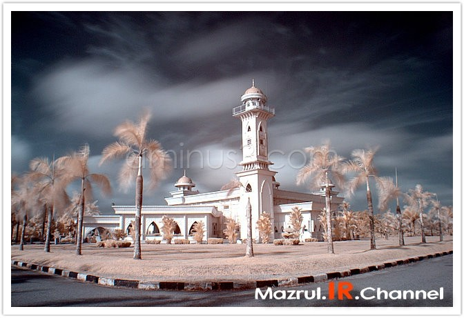 Mosque in Infrared!