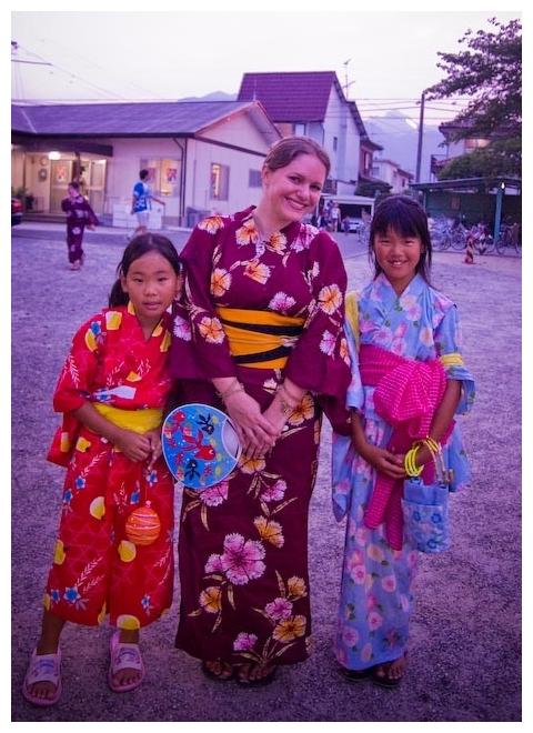 Yukata in Komono