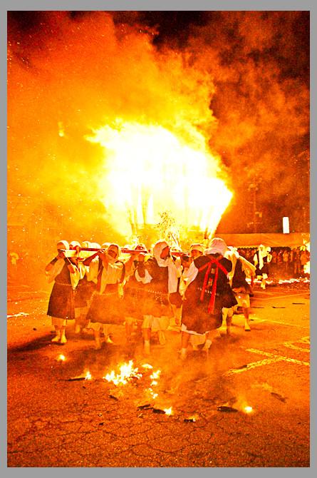 Komono's famous Souhei Matsuri 僧兵祭り Yunoyama