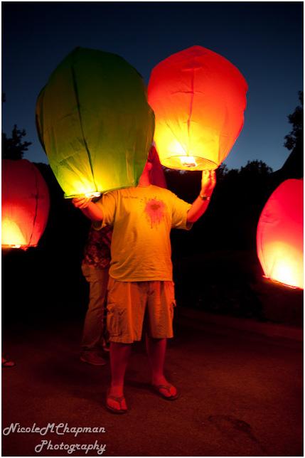 Floating Lanterns #9