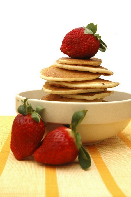 Pancakes are yummy