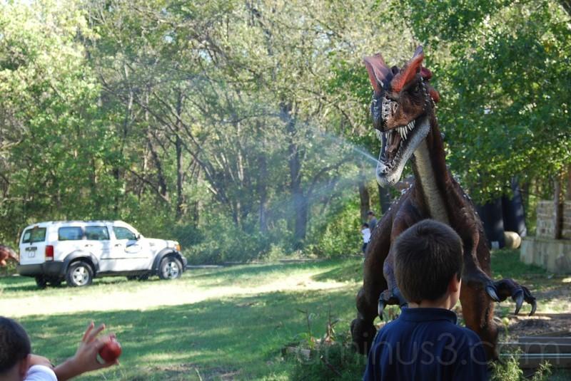 Dinosaurs Alive: Dilophosaurus