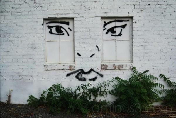 Graffiti: Face on a Wall