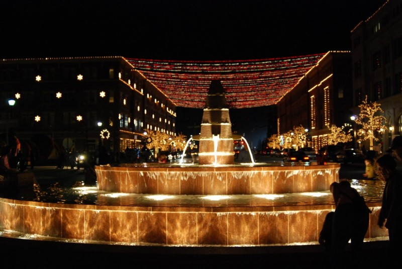 Frisco Square Lights