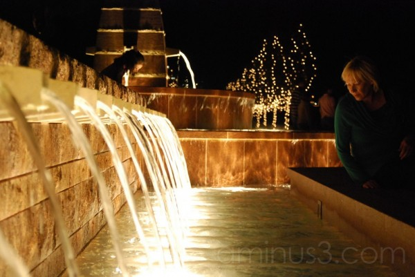 Frisco Square Lights: Fountain