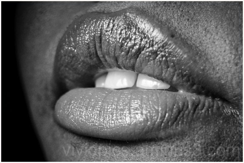 I LOVE: her precious lips
