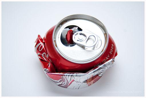 Coke on white