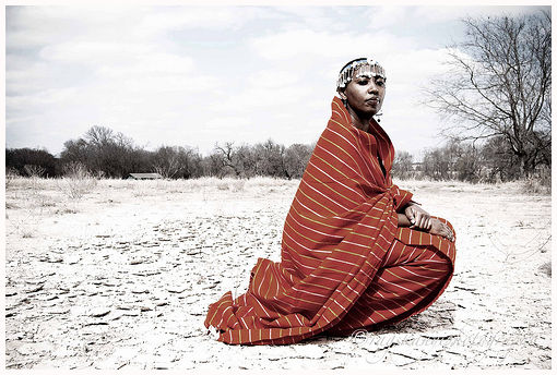 The reveal: Maasai Woman