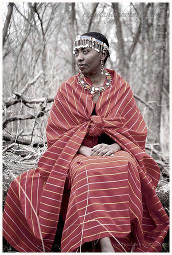 Maasai Woman II