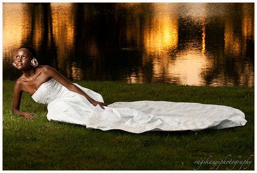A Modern Kikuyu Bride