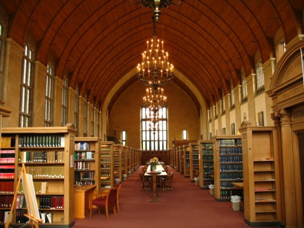 Cornell Law Library Reading Room