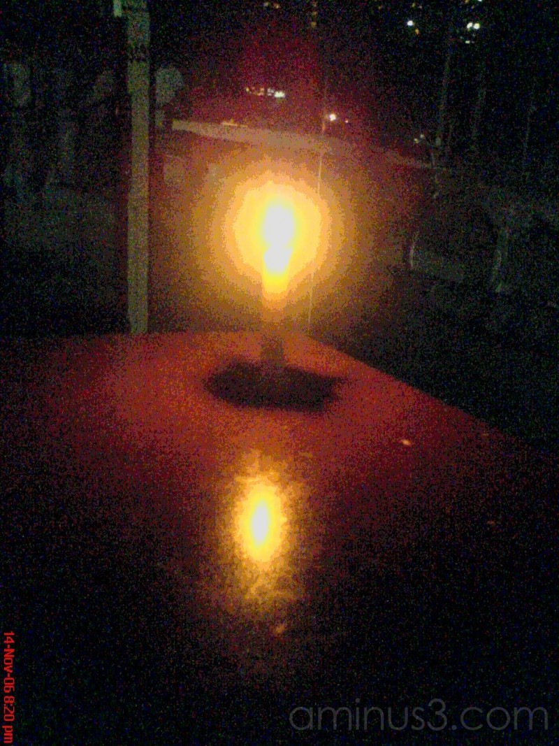 candle in the shop