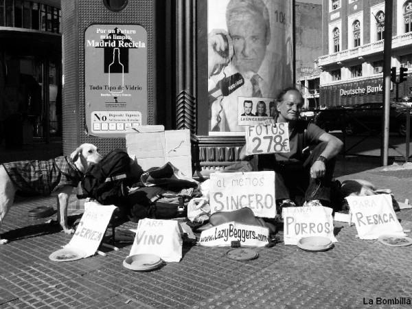 Madrid calle sinceridad pedigueño