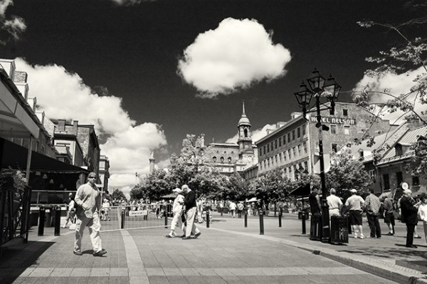 Place Jacques-Cartier, old Montréal.