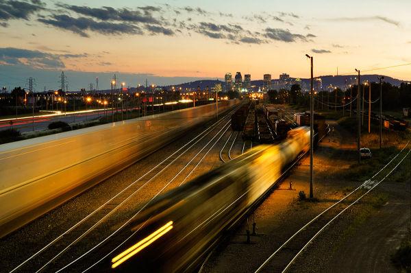 On prend toujours un train pour quelque part...