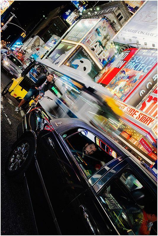 Times Square à minuit