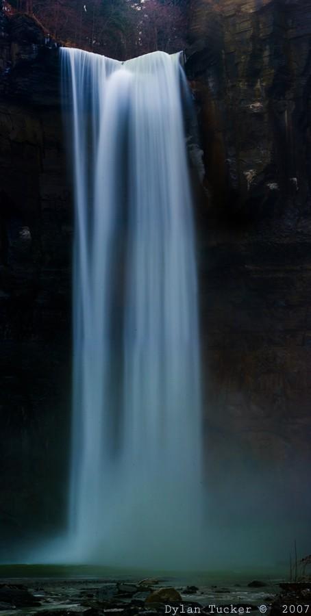 Taughannock Falls slow shutter photo