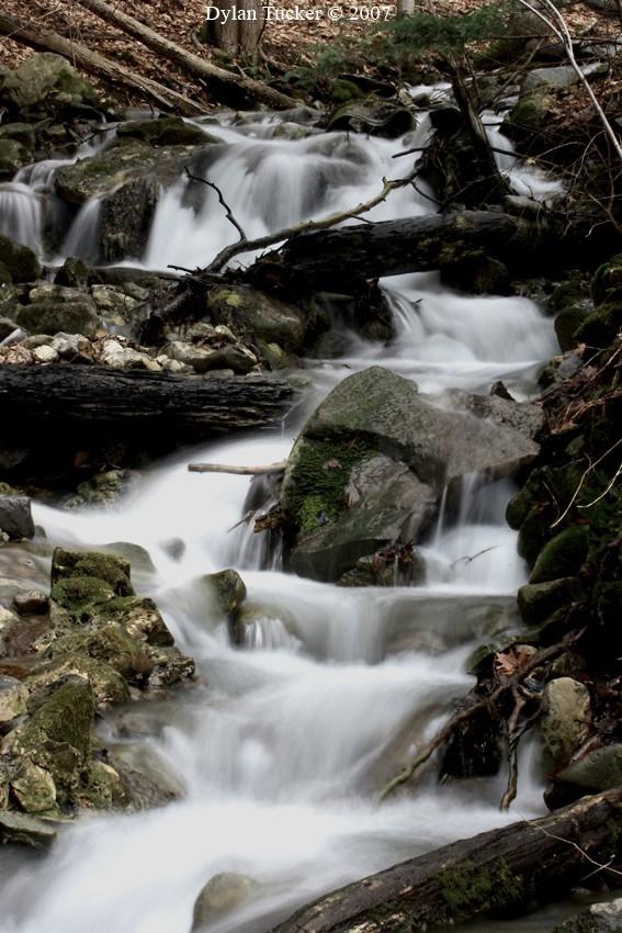 Waterfall in the catskills