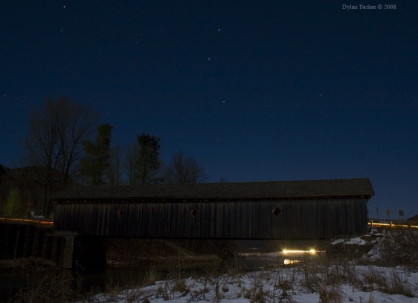 Fitch's Bridge under the stars