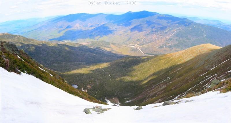 Wildcat ski area from mount washington