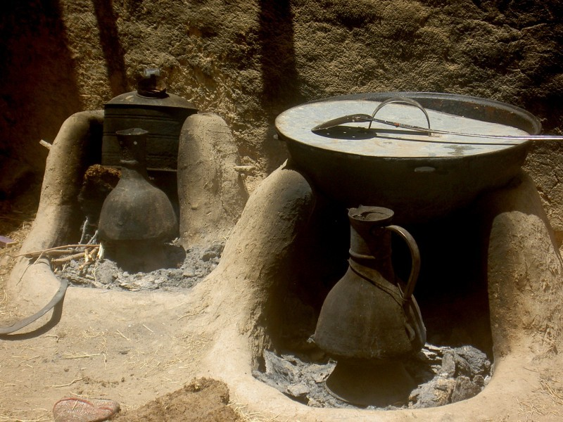 rural afghanistan outdoor cooking