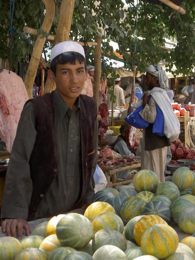 rural afghanistan outdoor market