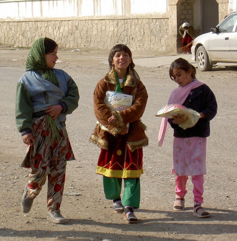 kabul school girls
