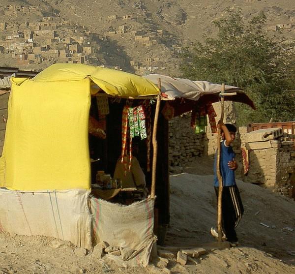 kabul shopkeeper