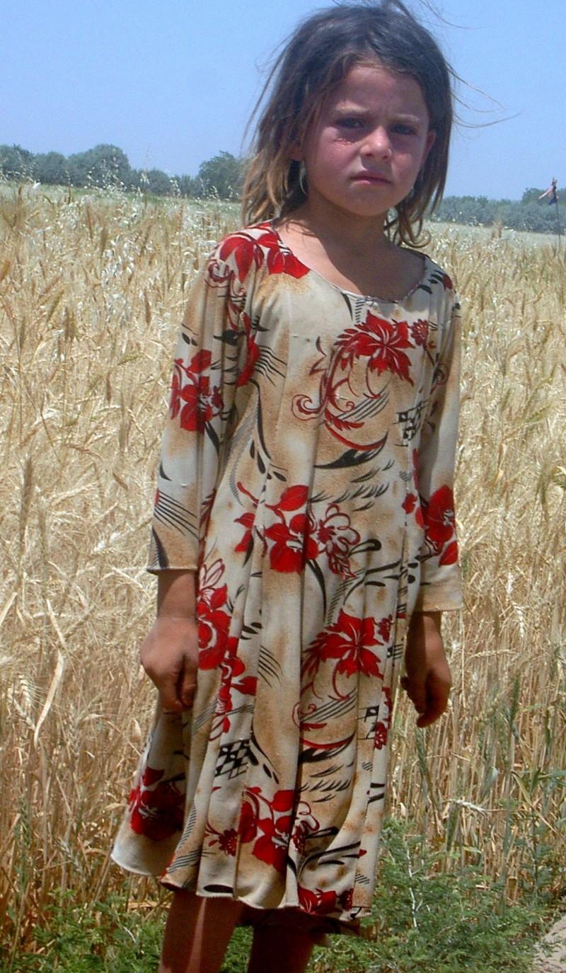 Girl from rural Afghanistan