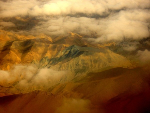 Flying low over Hindu Kush
