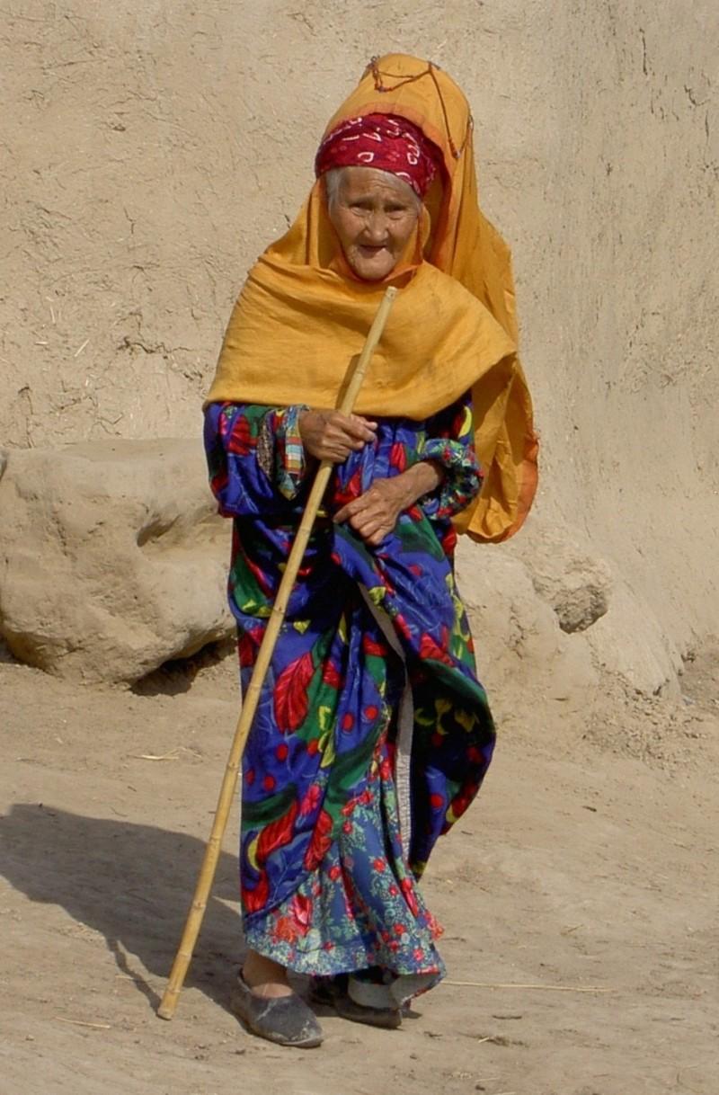 turkmen woman