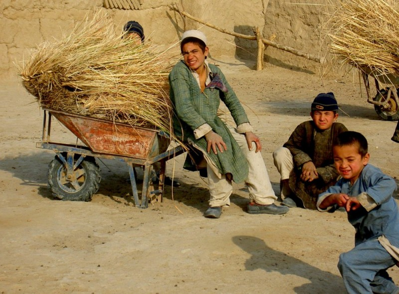 Turkmen boys