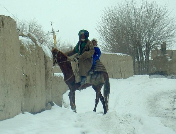 turkmen village life
