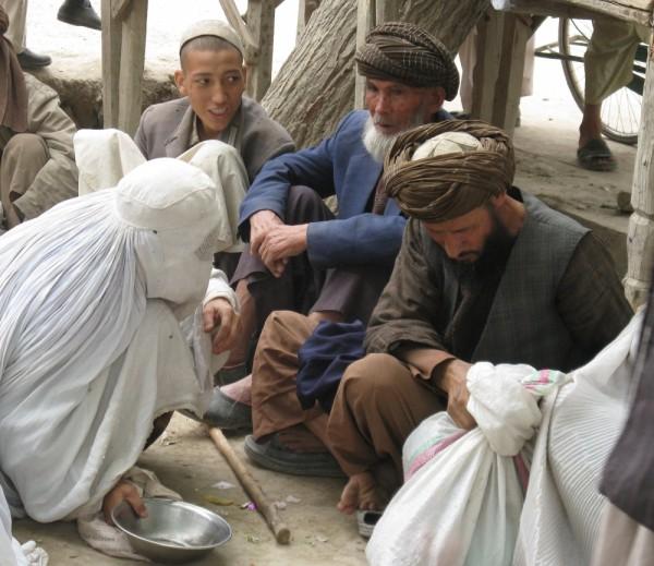 afghan widow's share