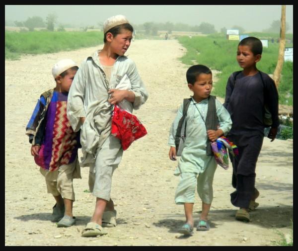 afghan school boys